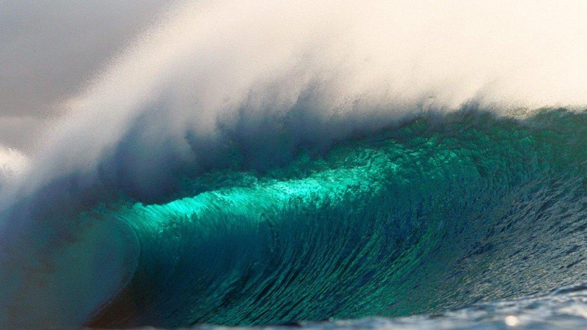 Картинки цунами волны