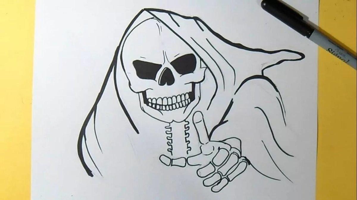 как нарисовать крутые рисунки поэтапно