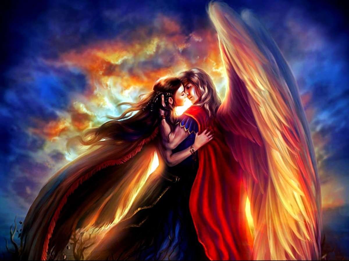 Картинка любовь к ангелу