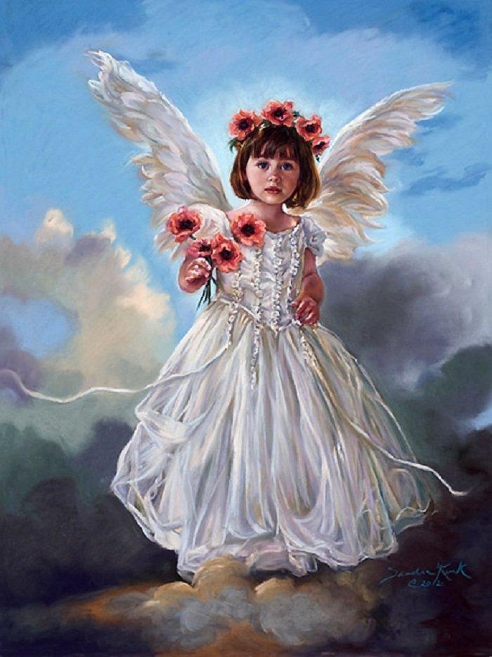 Ангелы анимация картинки красивые