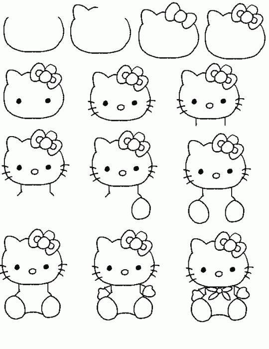 Самые простые рисунки карандашом для начинающих
