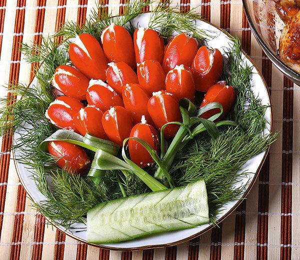 следующий тюльпаны из помидор рецепт с фото можете