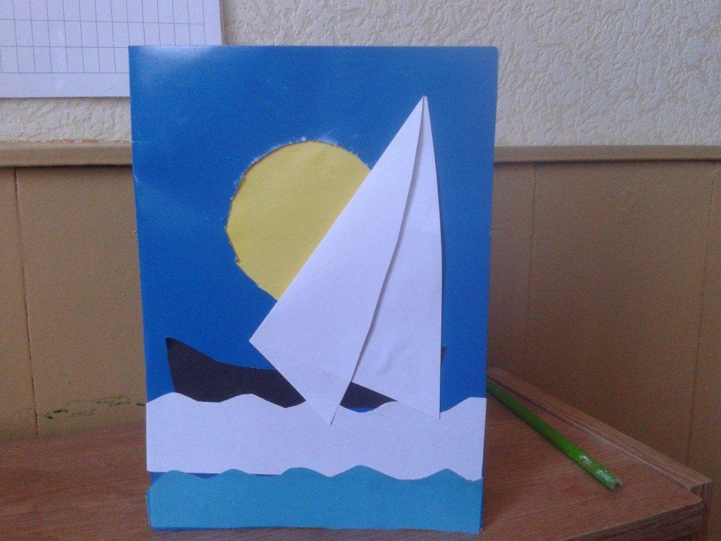 как сделать открытку папе к 23 февраля своими руками смайлики показывают