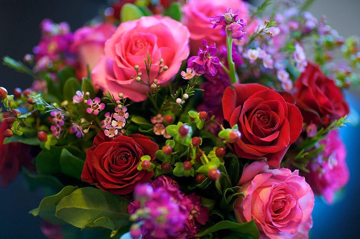 Самые красивые цветы букеты в мире