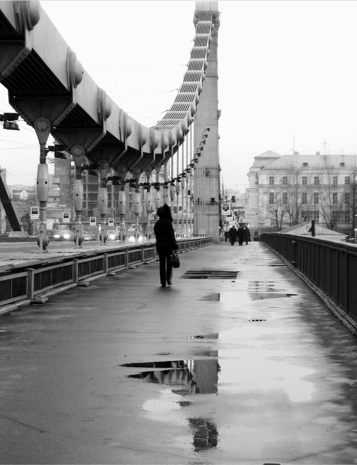 мост под дождем картинки существует несколько