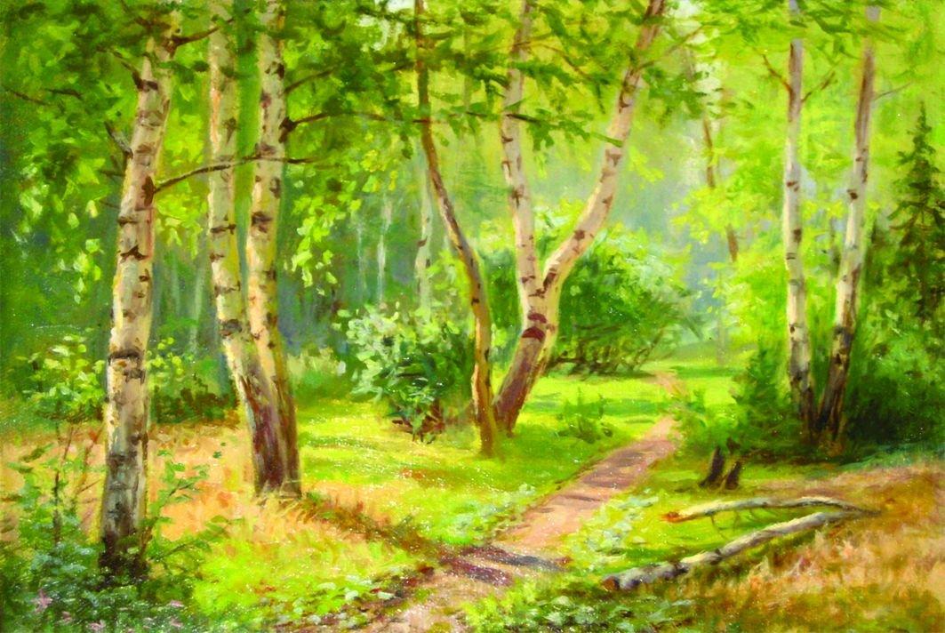 таких картинки сказочного летнего леса днем