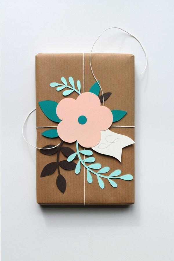 Бутылка, как упаковать открытку в подарочную бумагу