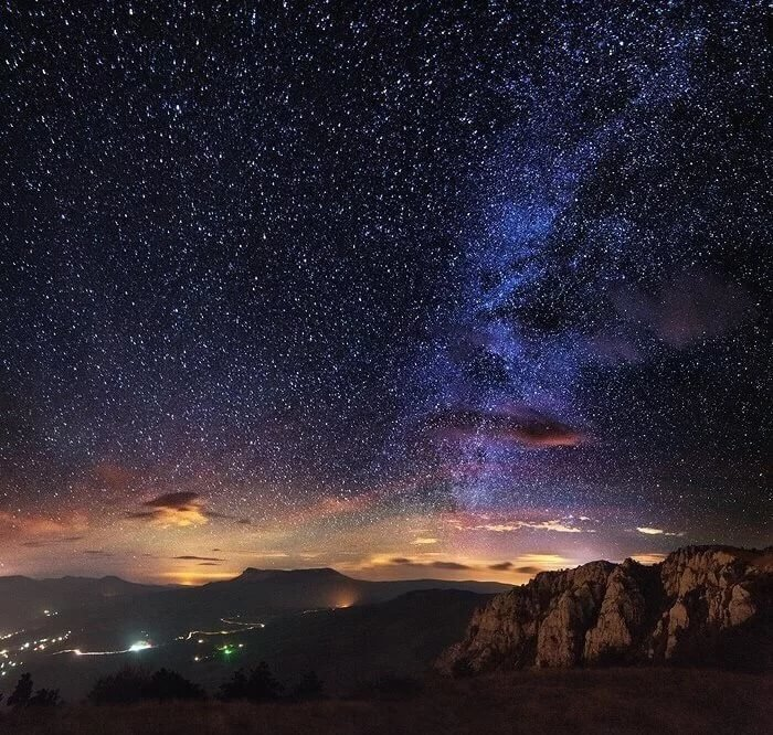 Очень красивые картинки звездного неба