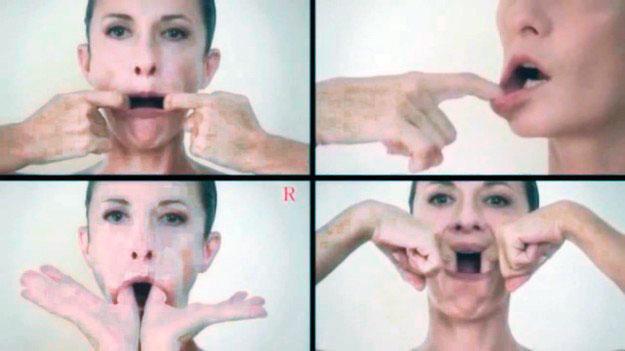 Как похудеть в области щеки