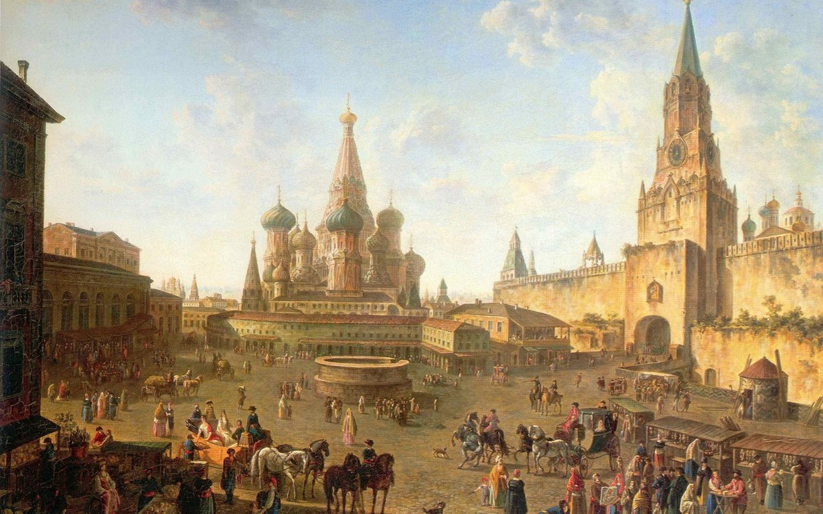 История москвы в картинках