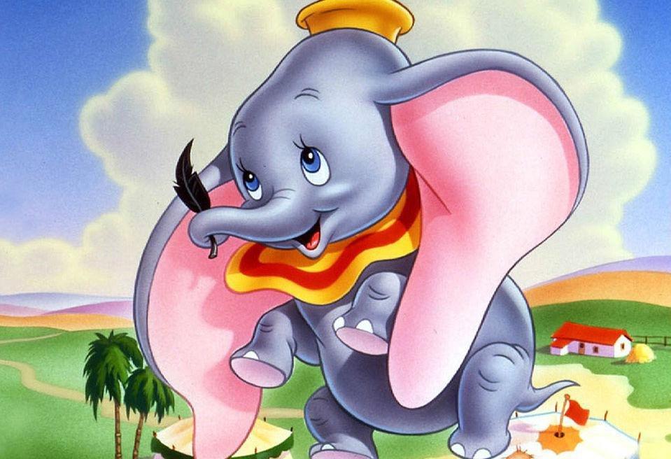 Слон из мультика картинка
