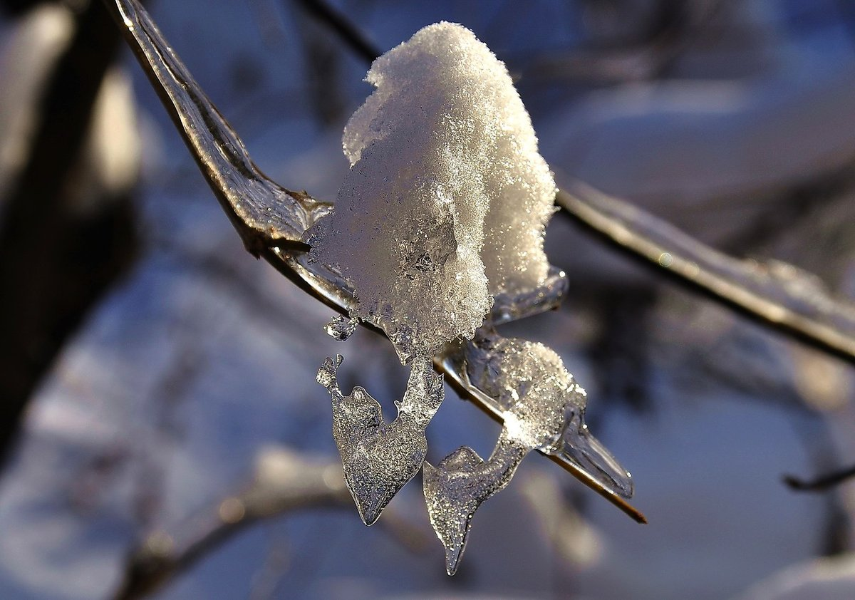 Снег тает картинки на аву