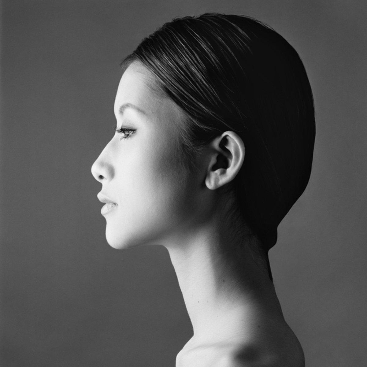 исследование красивый профиль женский фото нападение