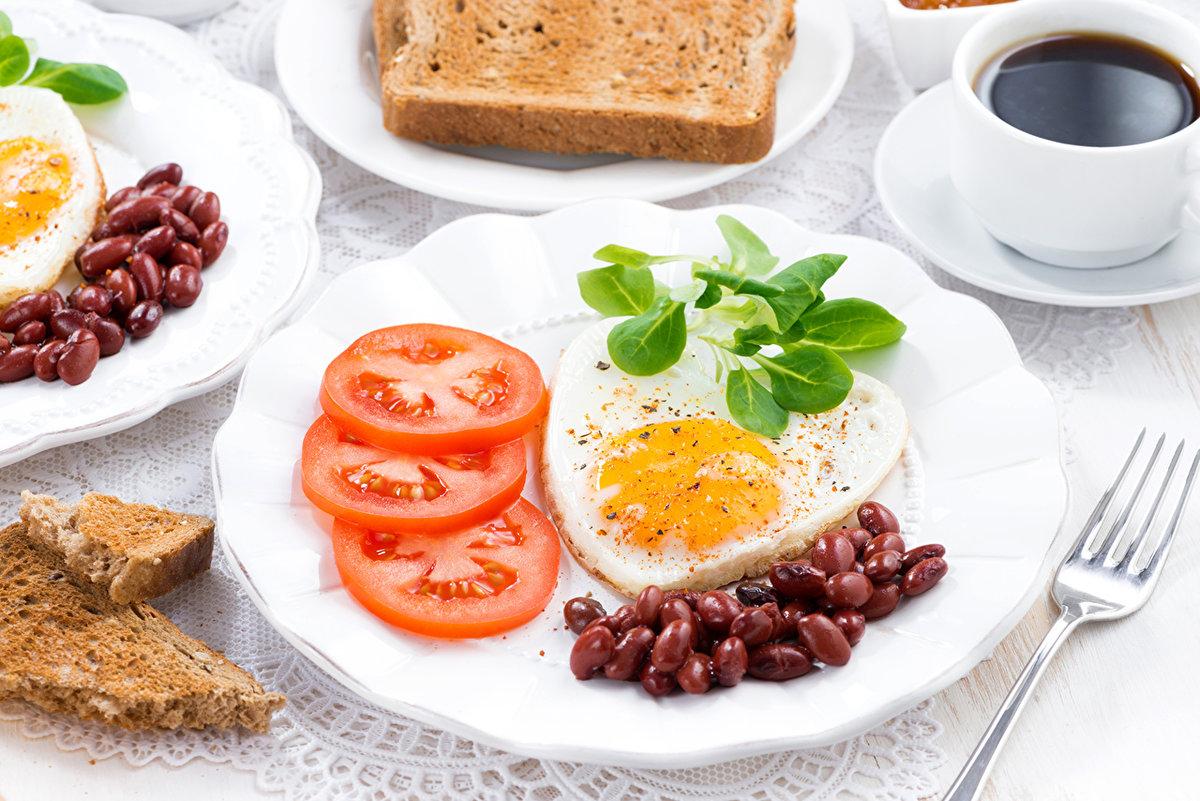 Новым годом, завтрак в картинках