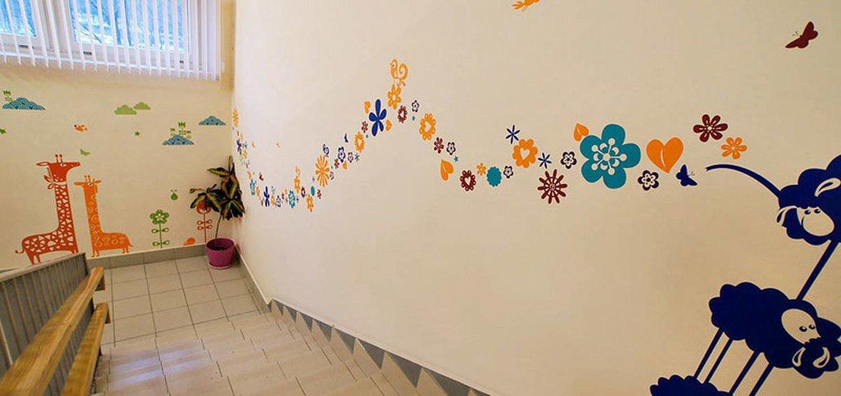 Потерей, картинки на стены в детском саду