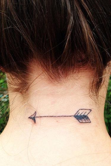 татуировка с знаком зодиака рыба
