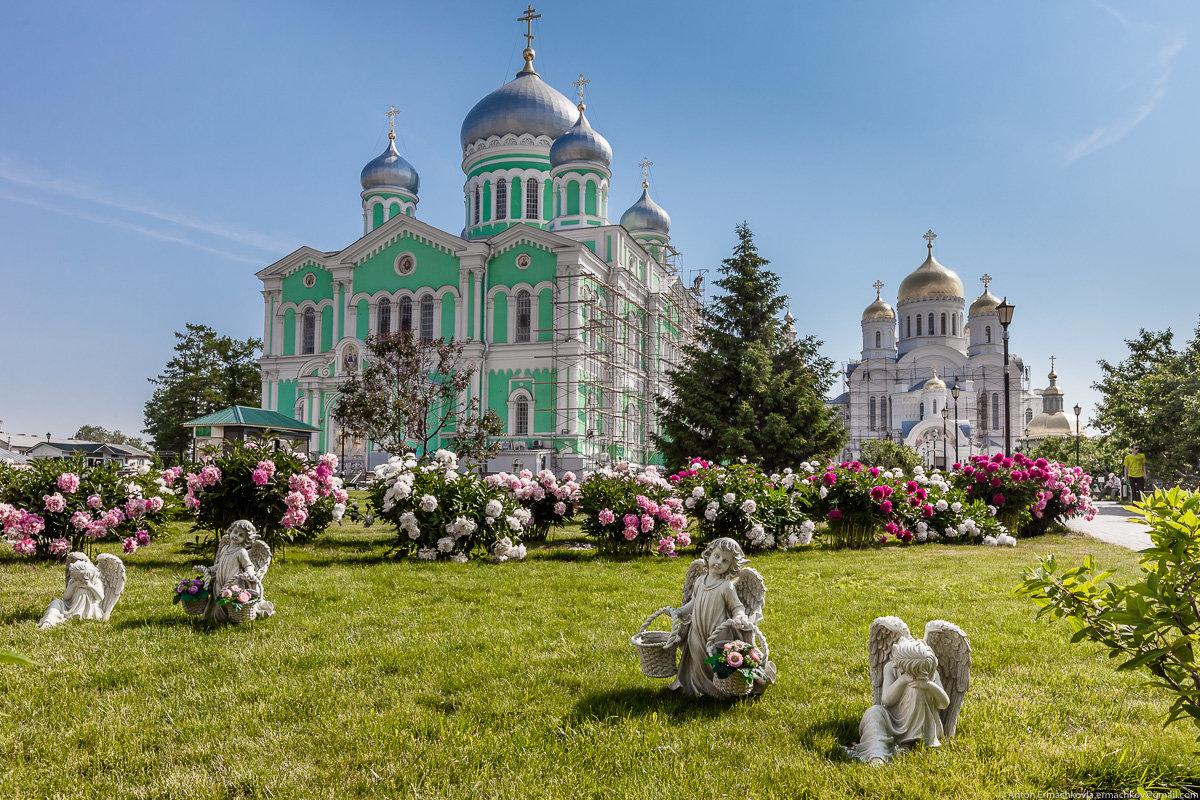 Картинки дивеево монастырь