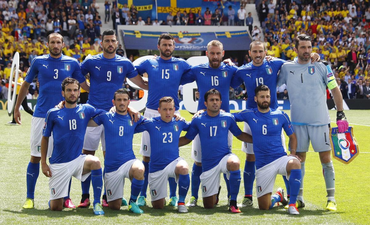 увы, эта футболисты сборной италии фото все благодаря