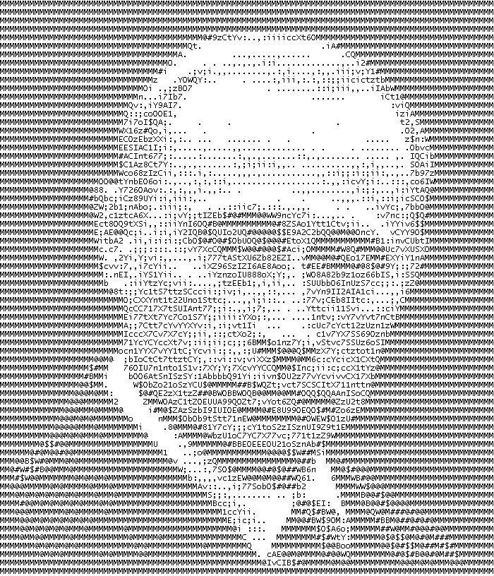 Картинка символами создать онлайн