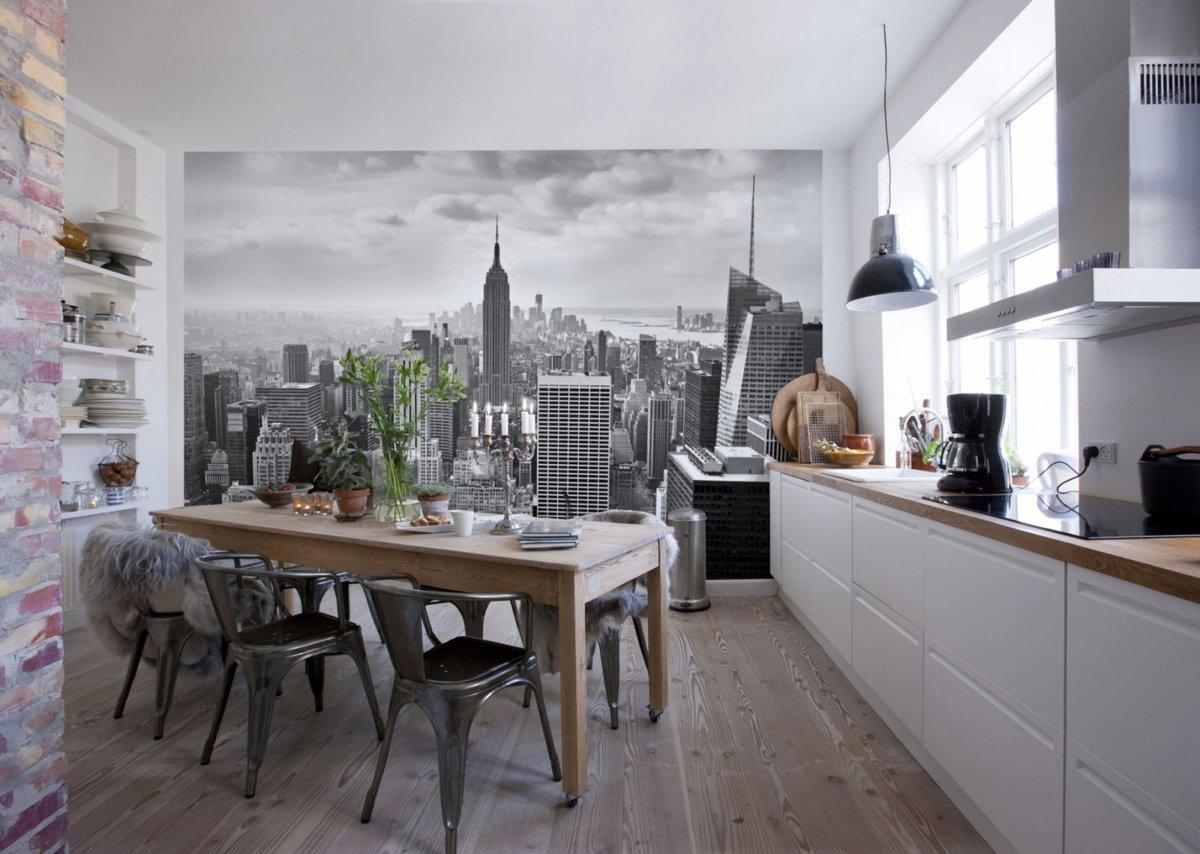 Фото обои картинки на кухню