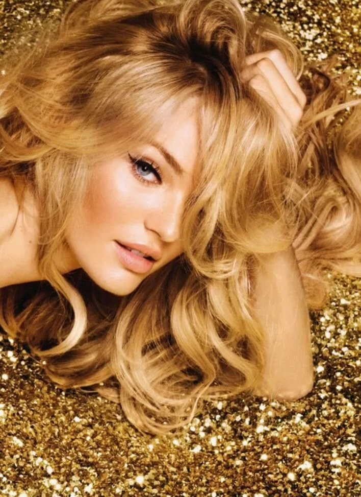 Золотисто медовый цвет волос фото