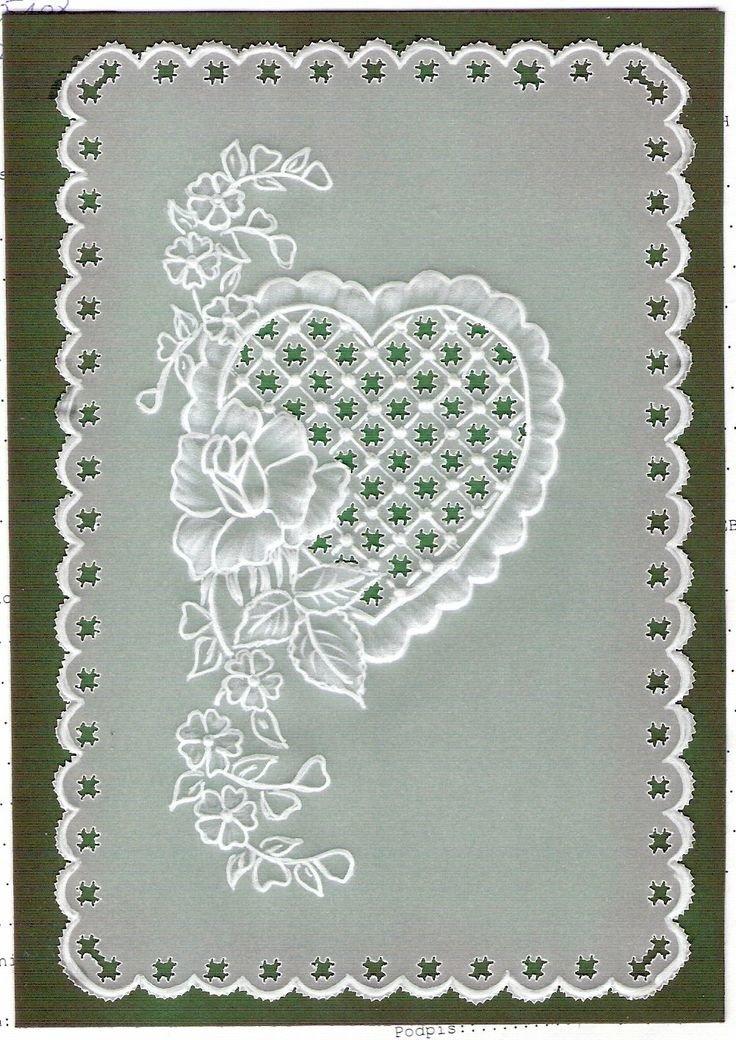 Люблю свою, открытки в пергамано