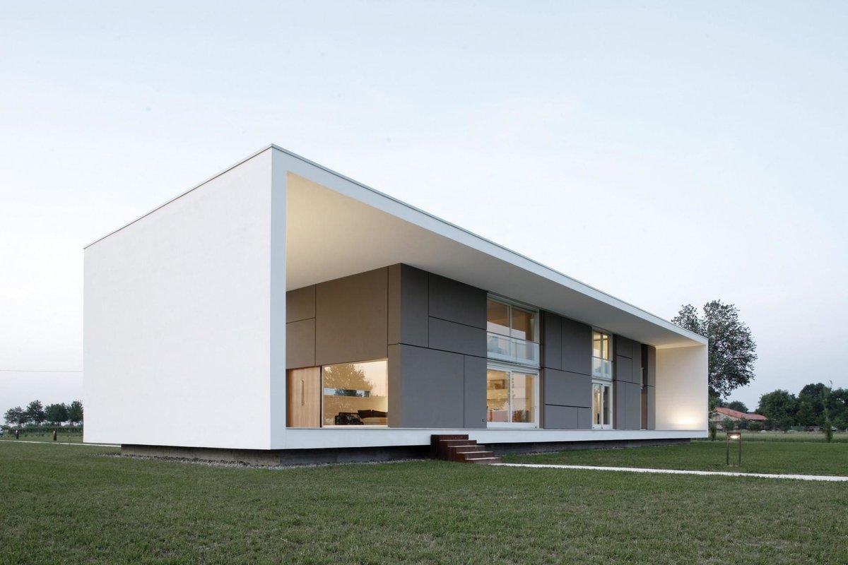 прямоугольный дом проект фото продаже загородных домов