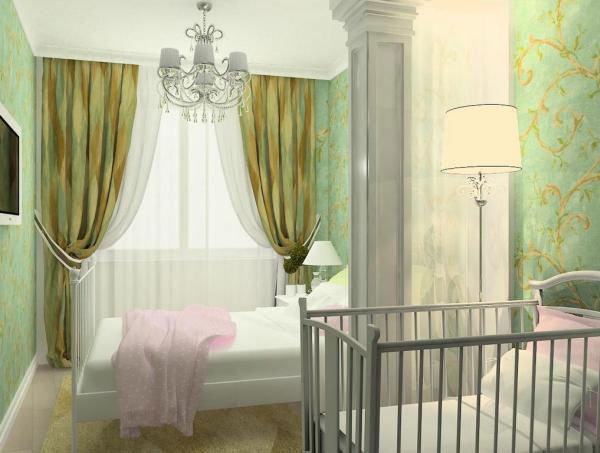 Главное в обустройстве детского спального места — создание уютного уголка, отстраненного от внешних раздражителей.