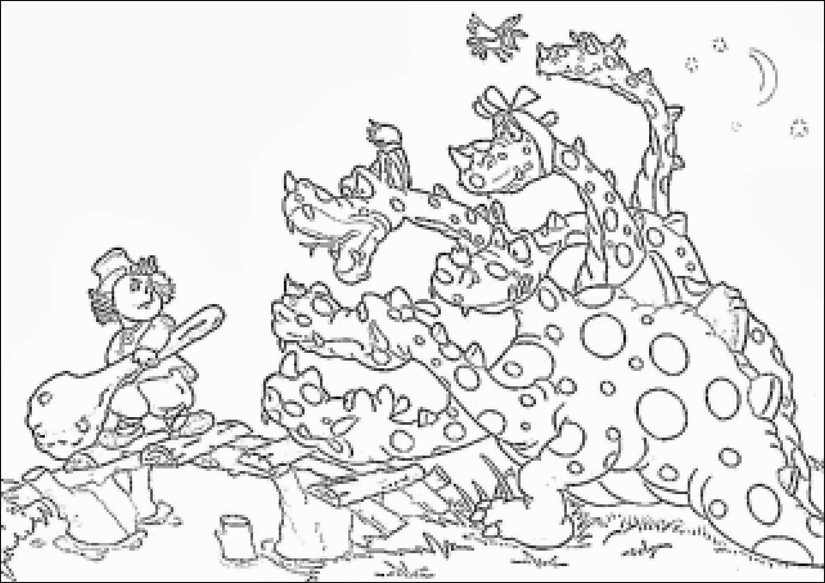 картинки иван крестьянский сын и чудо юдо раскраска