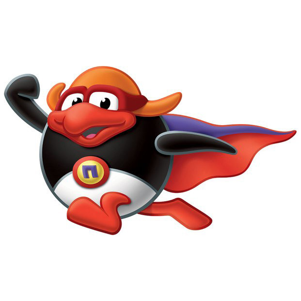 Персонаж из смешариков пингвин