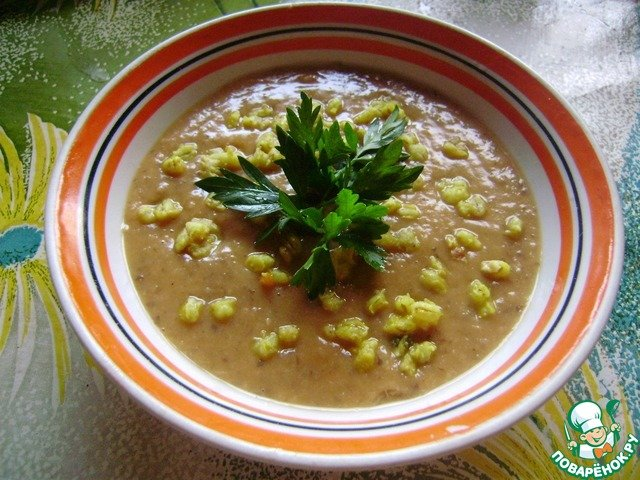 фасолевый суп пюре рецепт с фото