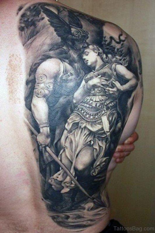 Neo Polytheist Germanic Pagan Tattoos Vikings Tattoos - 460×693