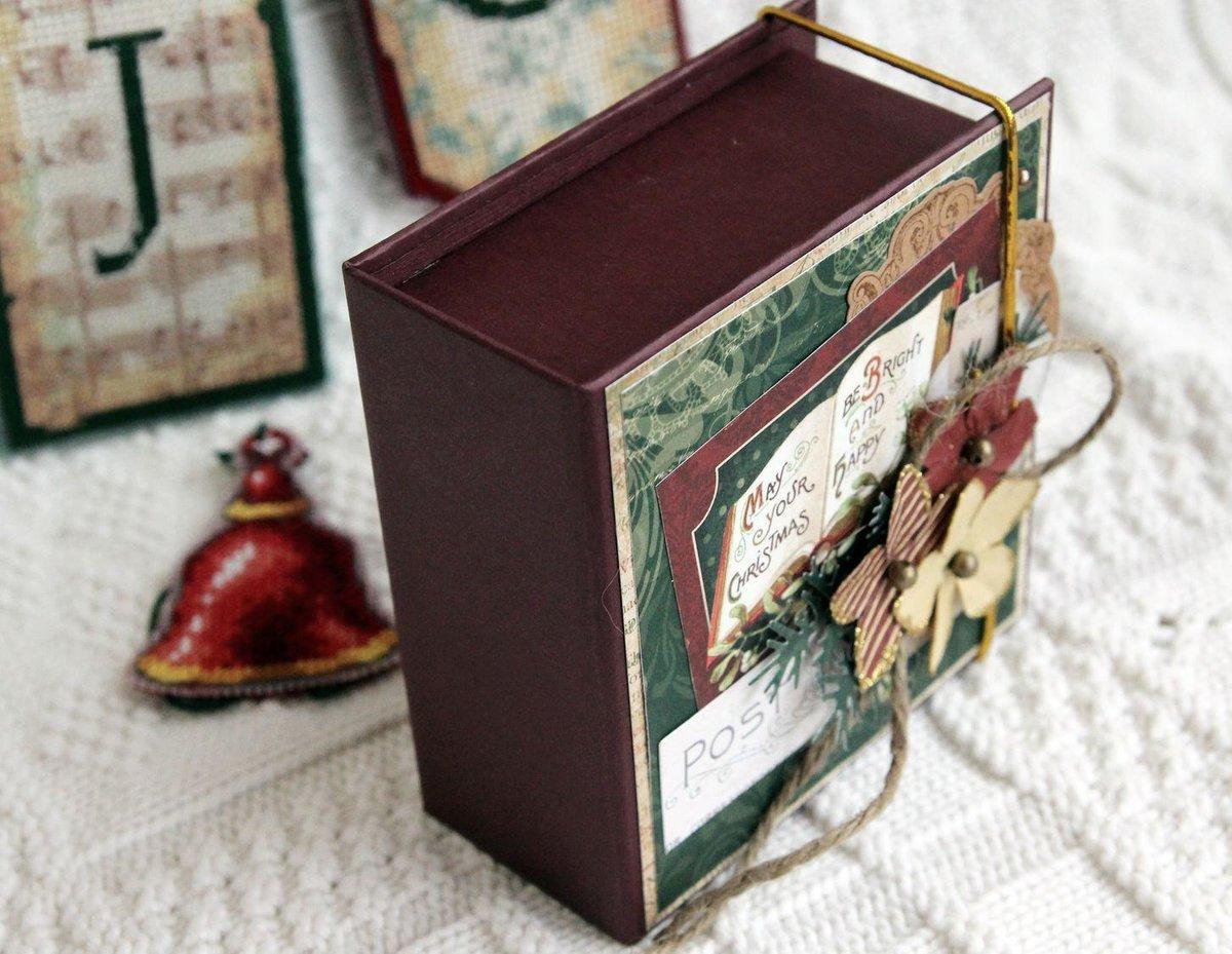 коробочки для подарков скрапбукинг фото прекрасно приспособлены