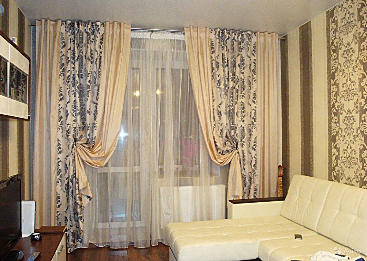 шторы для гостиной пошив своими руками - 8