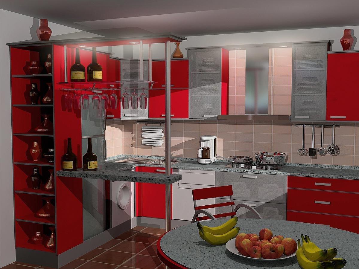 Кухни картинки проекты