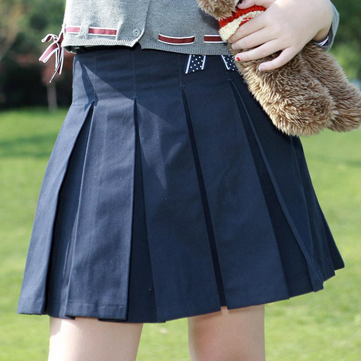 Школьная юбка в складку своими руками фото 116