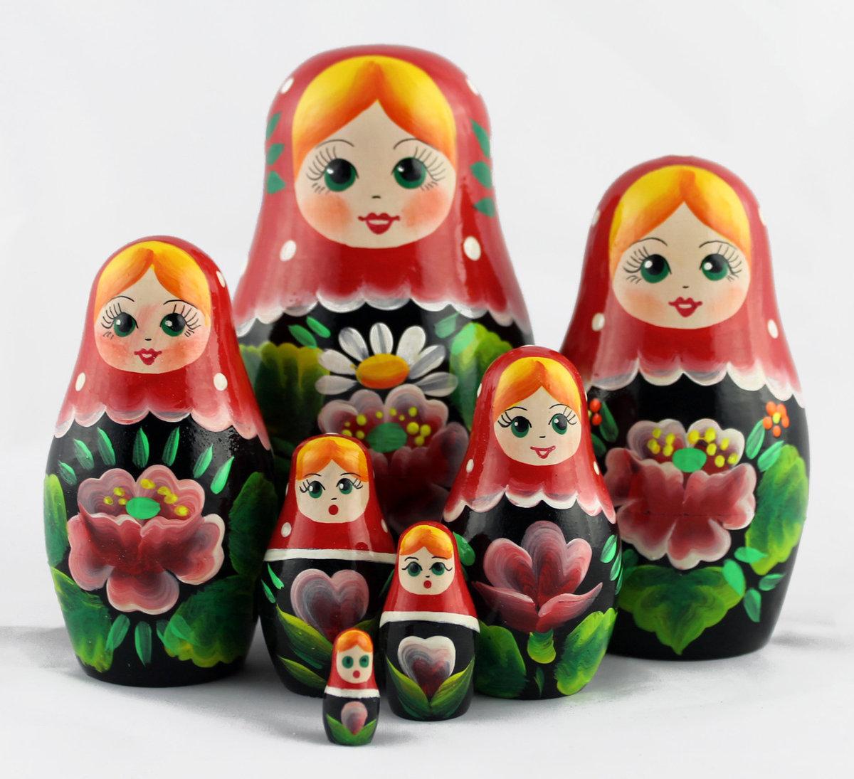 польские картинка матрешки игрушки современном