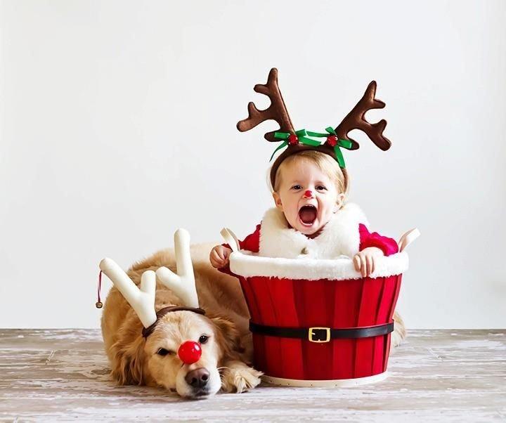 Смешные картинки дети и новый год, прикольные
