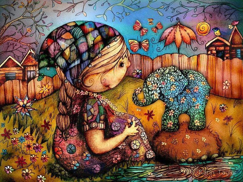 Картинки детских иллюстраторов
