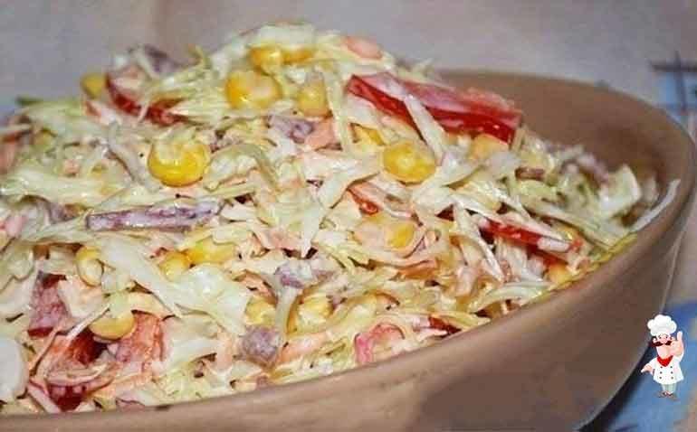 салат семеновна рецепт с фото пошагово