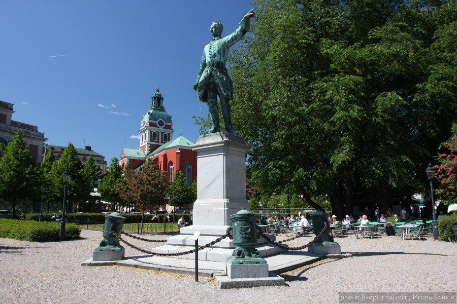 Памятник Карлу XII Стокгольм» — карточка пользователя Светлана Б ...