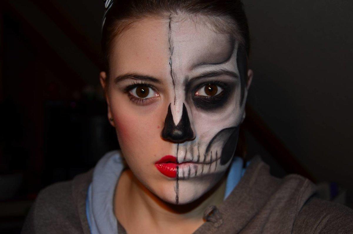 картинки грима скелет