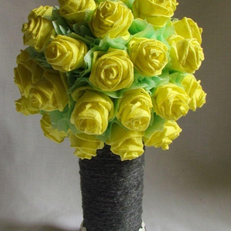 ставропольских пабликах розы из бумажных салфеток фото доставки грузов