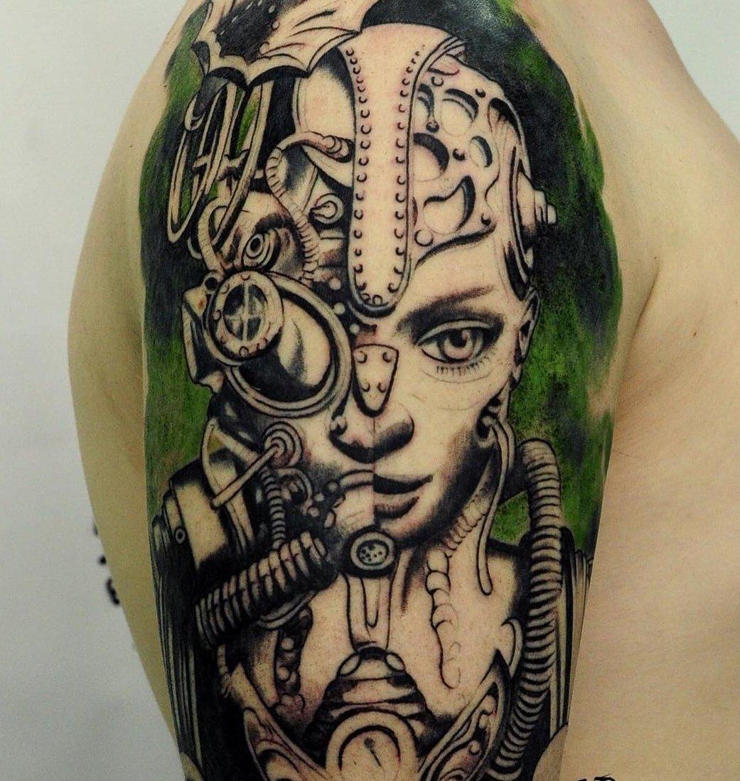 celtic punk tattoo - HD1041×1099