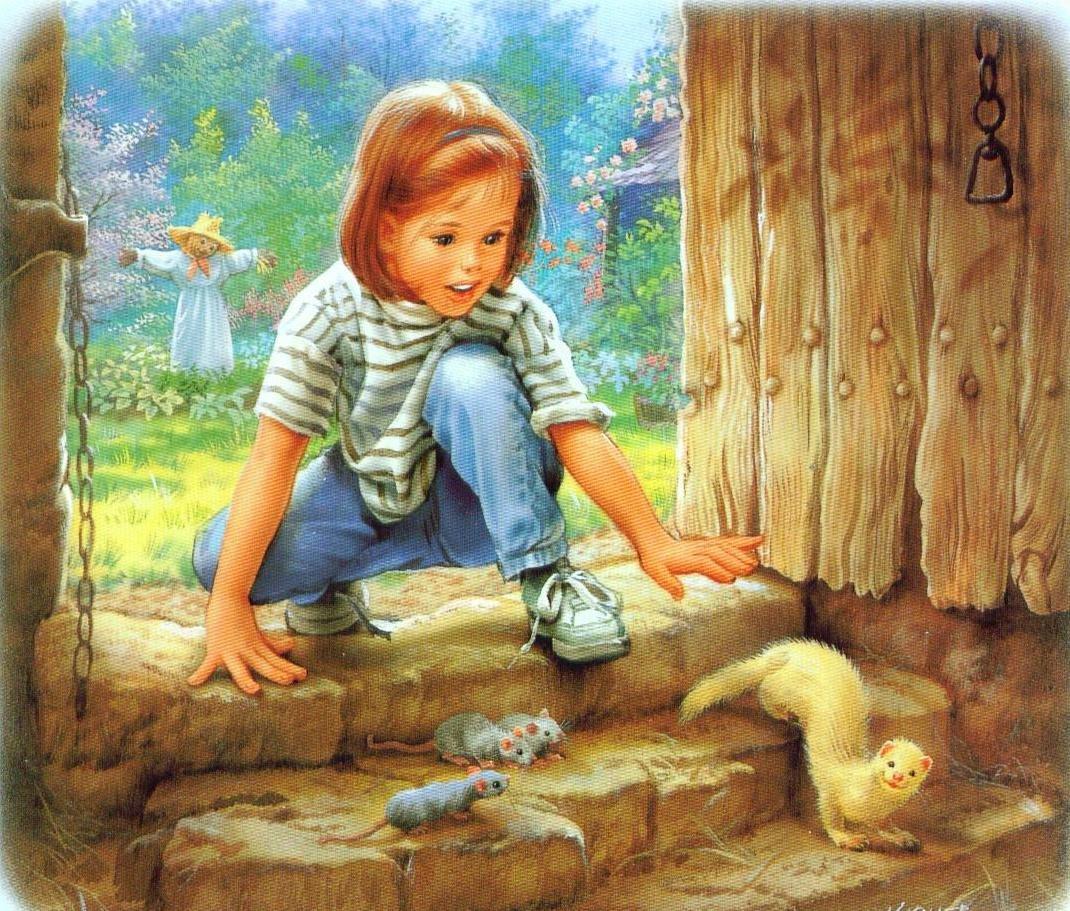 Картинки художников иллюстраторов для детей