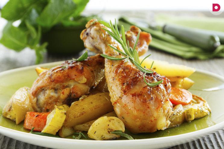 Что приготовить из куриных окорочков на ужин