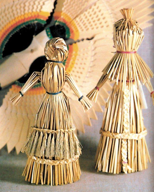 Куклы из соломы в картинках
