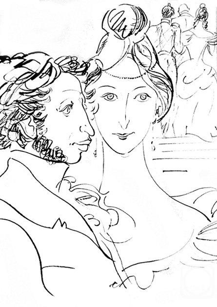 картинки из поэм а с пушкина кончающий член колготках
