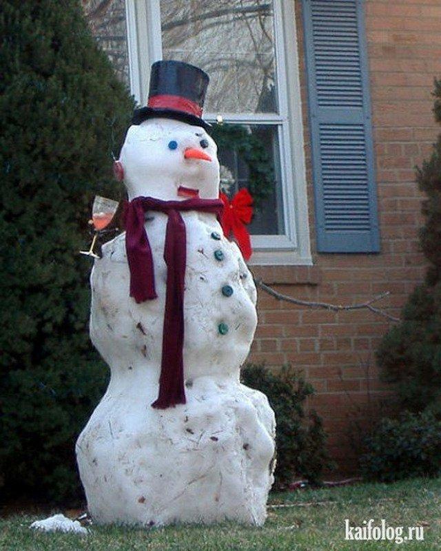 юморной снеговик картинки имеет