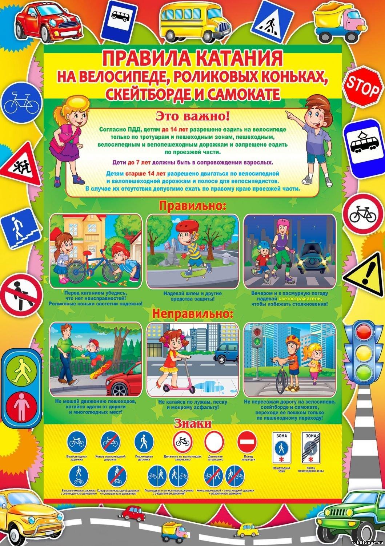 Безопасность дорожного движения картинки для школьников